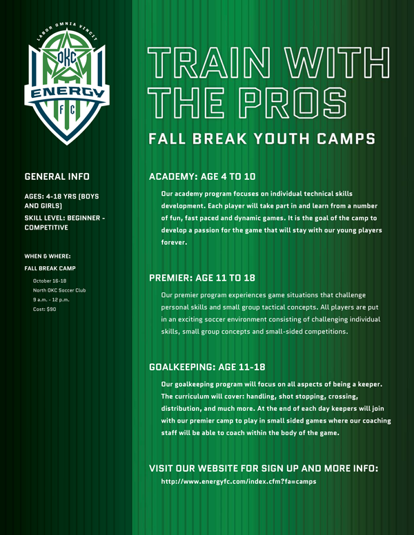 Okc energy camp flyer north oklahoma city soccer club okc energy camp flyer publicscrutiny Image collections